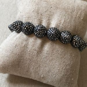 Studded stretch bracelet